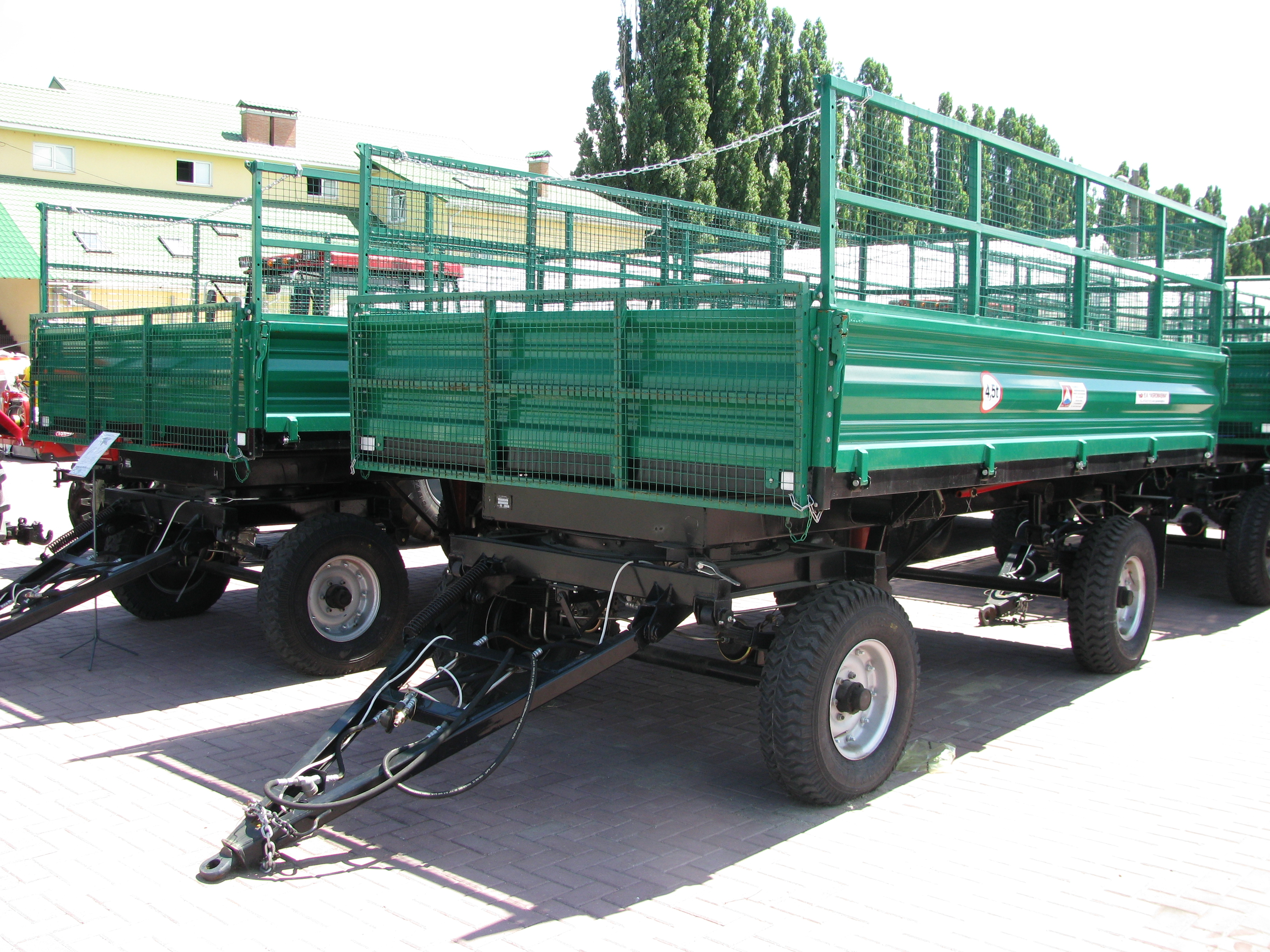 Remorca  agricola pentru tractor                2PTS-4.5 - Image 3