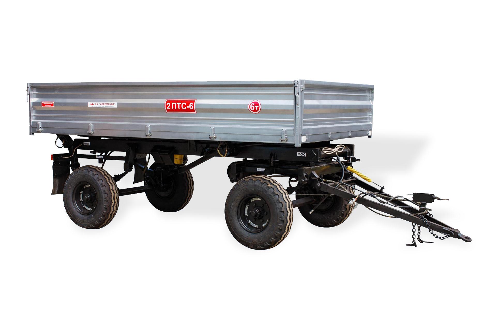Remorca agricolă pentru tractor 2PTS-6 - Image 1