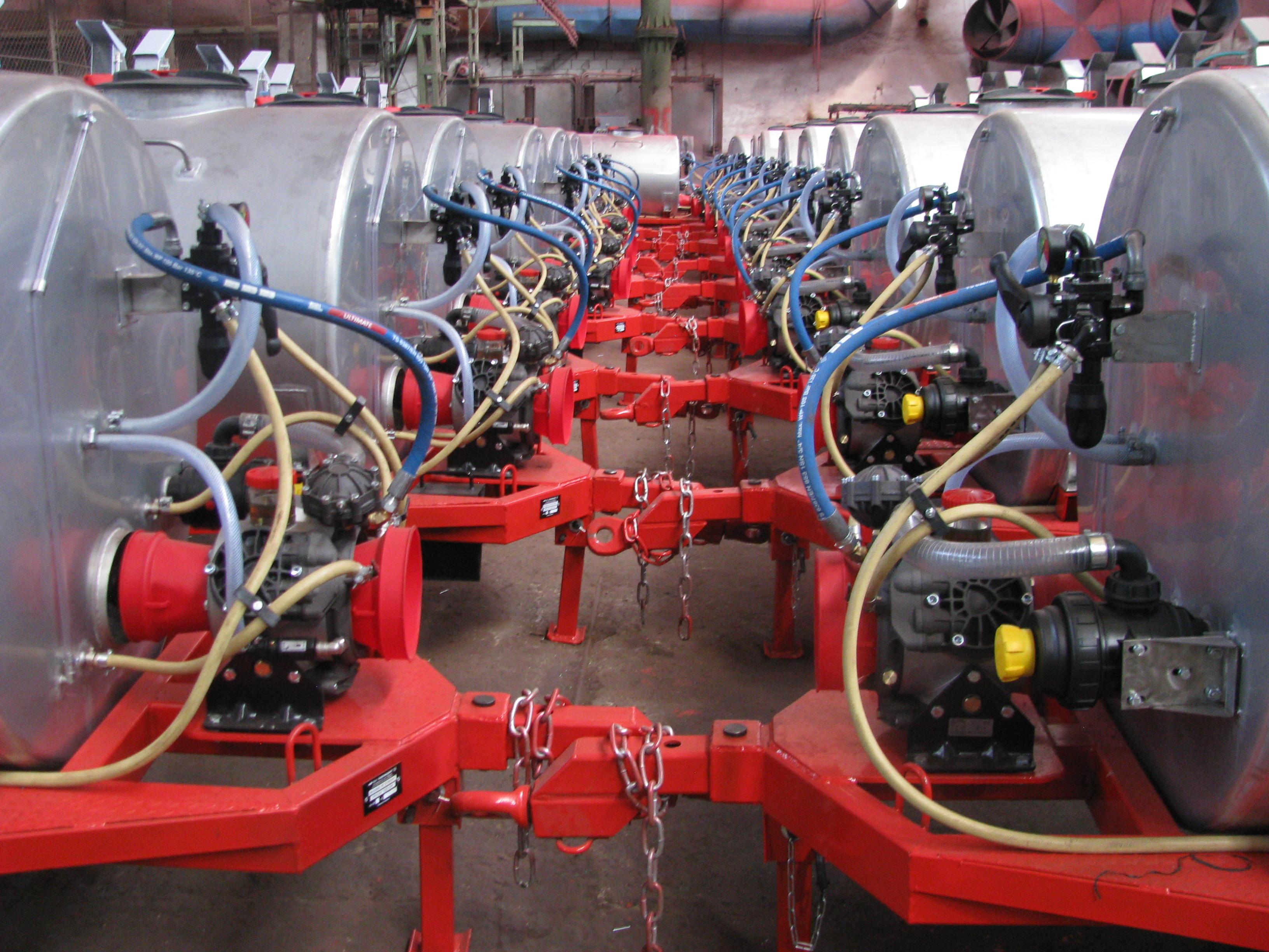 Masina de stropit OPV-2A - Image 4