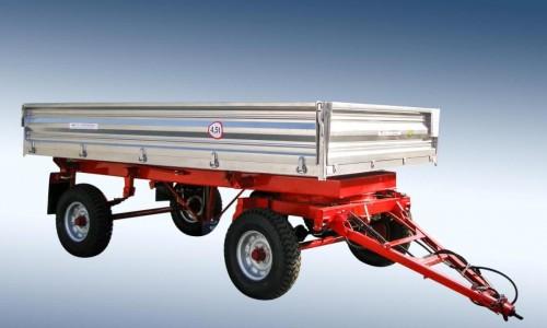 Remorca  agricola pentru tractor                2PTS-4.5 - Image 2