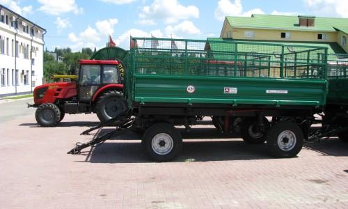 Remorca  agricola pentru tractor                2PTS-4.5 - Image 4