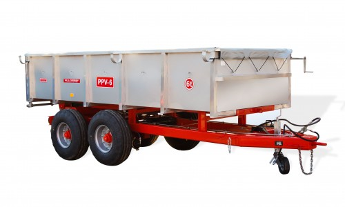 Semiremorca pentru transportarea strugurilor PPV-6 (6t) - Image 1