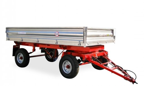 Remorca  agricola pentru tractor                2PTS-4.5 - Image 1